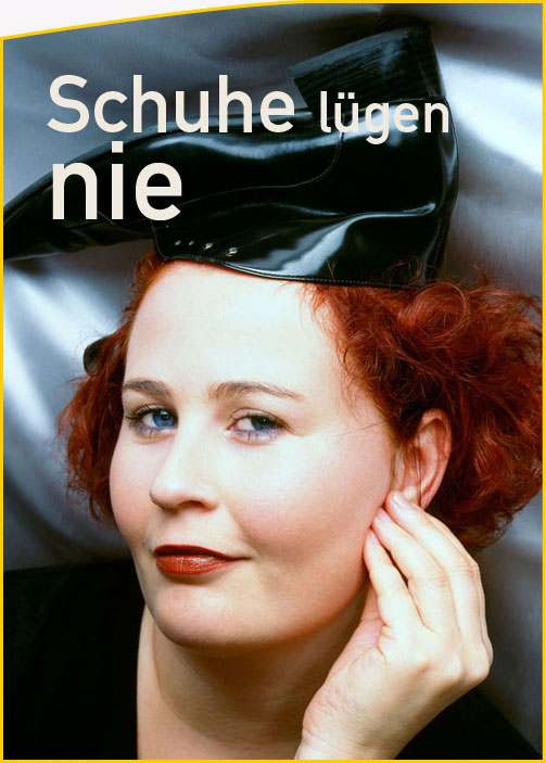 Eva D. - Solokabarett: Schuhe lügen nie