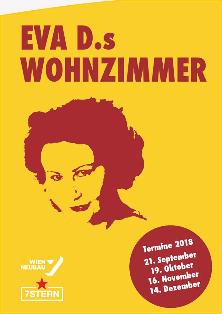 Eva D.s Wohnzimmer Flyer