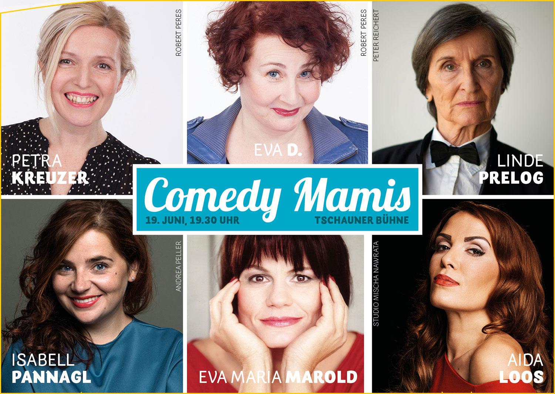 Comedy Mamis 2021 - Tschauner Bühne
